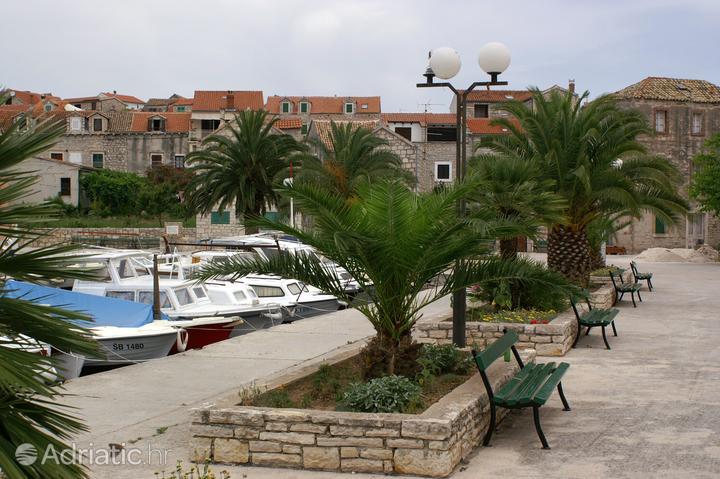 Prvić in der Region Sjeverna Dalmacija (Kroatien)