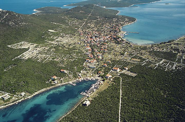 Ist in the region Sjeverna Dalmacija (Croatia)