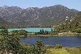 Baćinska jezera locirana između rivijere Makarska i Dubrovnika