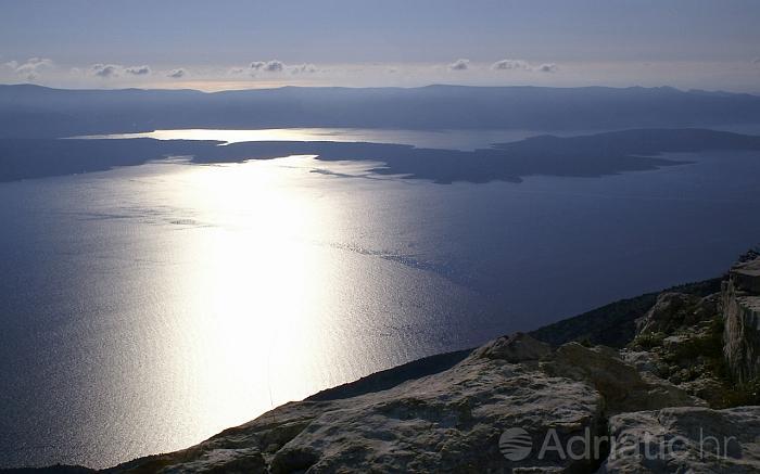 Vidova Gora is the highest peak of the Adriatic islands