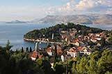Panorama grada Cavtat, rivijera Dubrovnik