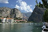 Rzeka Cetina, riwiera Omiš