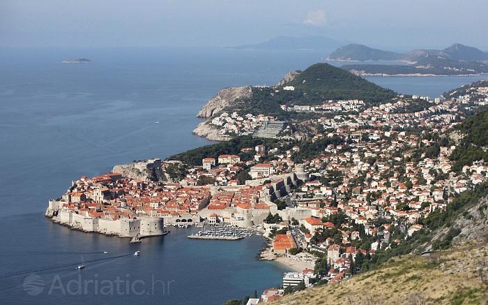 Een van de mooiste steden op de Adriatische kust - stad Dubrovnik