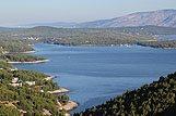 Pogled na mesto Jelsa, riviera Hvar