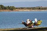 Odmor pored mora u mjestu Laznjan, rivijera Medulin