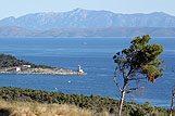 Dio obale grada Makarske, rivijera Makarska