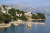 Panorama mjesta Medići, rivijera Omiš