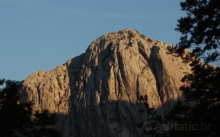 Pejsaž dijela Nacionalnog parka Paklenica