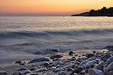 Plaža u mjestu Plat, rivijera Dubrovnik