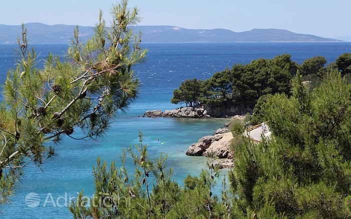 Dettaglio dal paese di Podgora, riviera di Makarska