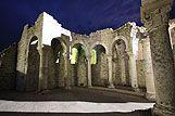 Overblijfselen van het Klooster van St Ivan, riviera Rab