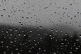 Podroben posnetek dežnih kapljic