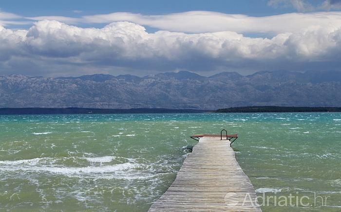 Pejsaž okolice mesta Sabunike, riviera Zadar