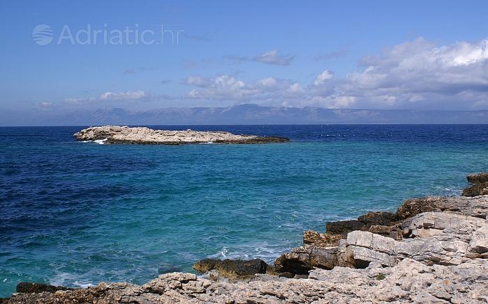 Uvala Stiniva na otoku Korčula