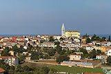 Panorama mesta Vrsar, riviera Poreč